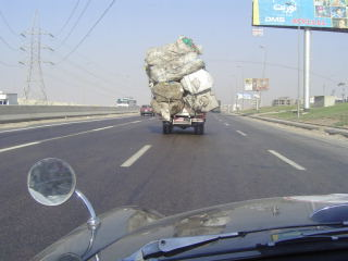 Danger! Dodgy load